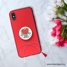 Suport Popsockets Stand Adeziv Family by Keith Haring Keith Haring, Phone Accessories, My Photos, Phone Cases