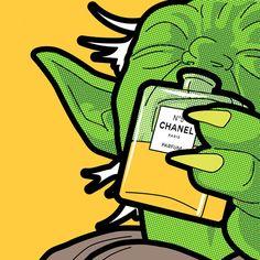 Bem antenado no bom gosto esse camarada, gtennn... Hummm, Chanel!!! (rsrs) DC
