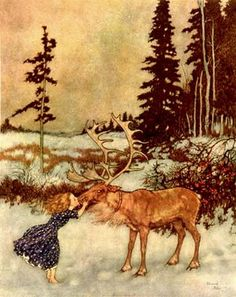 Further Up and Further In: Inspiration: Edmund Dulac