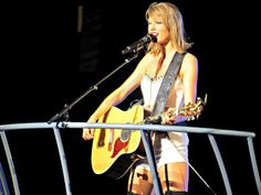 Taylor Swift performing You Are In Love on the 1989 World Tour in Baton Rouge 5/22/15