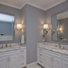 soothing grey wall color