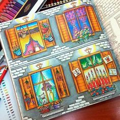 Romantic Country Coloring Book - Cocot The Land of Beautiful Towering Castles- Eriy