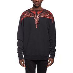 Esmeralda sweatshirt from the F/W2016-17 Marcelo Burlon County of Milan collection in black