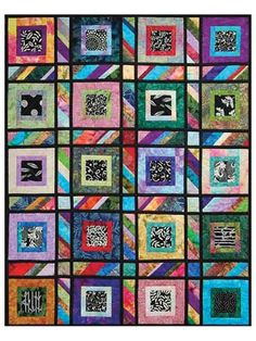 """Fat quarters, 2 1/2"""" strips, squares and scraps--use as many fabrics and colors as you like! Mix and match from your stash if you wish. Each size can use a combination for fat quarters, 5"""" charm squares and/or 2 1/2"""" Jelly Roll strips,..."""
