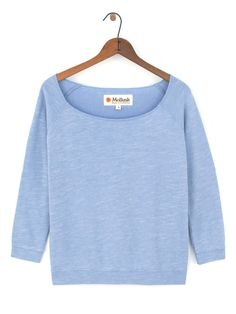 Women's Sweatshirt s/ Surf / Made in Peru / Sweater / Super Soft / Cousteau Blue