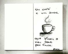 Um café. Apenas.  Bom dia.  #Cof #Cafe #Coffee #BomDia