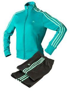 67bd06b61 Chándal Adidas Young Stripes para mujer.  casual  moda  ropa  urban  .  Deportivas ...
