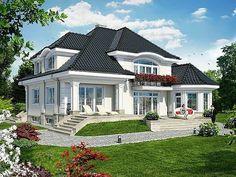AzFPP9WOnzw (640x480, 240Kb) 2 Storey House Design, Duplex House Design, House Front Design, Modern House Design, Bungalow Style House, Bungalow Homes, Cottage Style Homes, Model House Plan, Dream House Plans