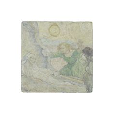 Raising of #Lazarus after #Rembrandt by #VanGogh #Stone #Magnet