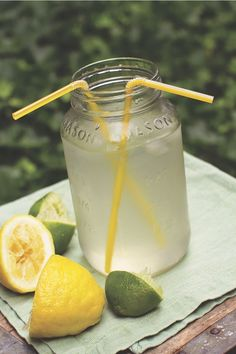 Lemon-Lime Sports Ade - The Lemon Bowl #kidfriendly #drink