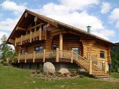 Kanadische-Holzhäuser-Terrasse-Architektur-Design