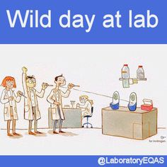 Pipette competition Wild day at lab