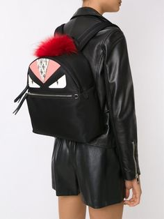 Shop backpacks for women at Farfetch and find Burberry, Moschino and Kenzo alongside Chloé and MCM. Black Backpack, Leather Backpack, Fendi Monster Bag, Fendi Bag Bugs, Givenchy, Gucci, Assault Pack, Bug Out Bag, Color Blocking