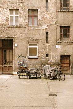 Berlin Hinterhof / Foto: Bruno Rodi