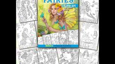 Fairies Line Art By Alena Lazareva