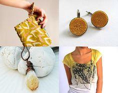#handmade #crochet #textile #yellow #fiber #earrings #minimalist #jewelry #jewellery #bronze #brass #silk #thread #bohemian #young #fashion #trends #spring #summer #crochet #sunny