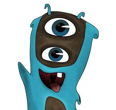 Enigmo is an endangered, ultra rare, species of Slug with a pair of vertically stacked eyes. Flareon Pokemon, Pixar, Bane Batman, Animals And Pets, Cute Animals, Nerd, Fandom, Baby Store, Disney S
