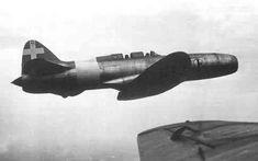 Italian Campini-caproni, WWII first fighter jet!