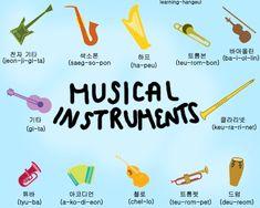 Musical Instruments | Learn Korean | kPOPfix