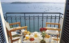 Simply magic! A balcony with a view - yes, please!