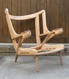 Hans J. Wagner 1951: Papa Bear chair rack / frame