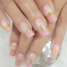 100 Beautiful wedding nail art ideas for your big day - bride nails pink nail art, romantic nail ideas, wedding nail French nails Nail Art Games, Nail Art Kit, Gel Nails, Manicure, Nail Polish, Coffin Nails, Nail Art Pictures, Art Pics, Nail Art Designs