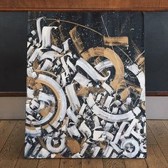 Calligraphy Art by Pokras Lampas, via From up North