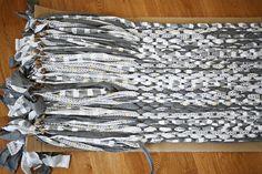 Make Your Own Woven Rag Rug abeautifulmess.com