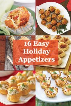 Be inventive with your holiday appetizers this year by using this recipe guide. #Holidays #Recipes