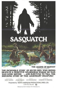 sasquatch, if she could meet anything on this planet...it would be this guy!