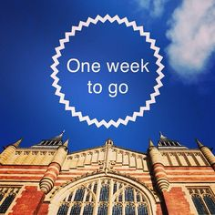 Just one week to go until our 14 September Open Day. Sign up now at www.leeds.ac.uk/opendays #LeedsOpenDay