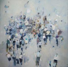 Caroline Yates - Friday - Oil on canvas