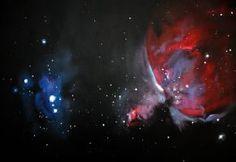 Orion Nebula by startwister218