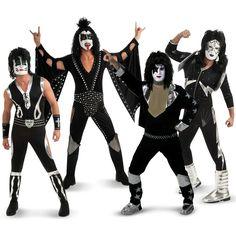 #Halloween http://www.planetgoldilocks.com/halloween/sales.html   Kiss Army Group Costumes #GroupCostumes