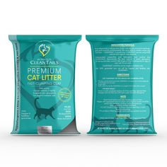 Create Packaging Design of Clay Cat Litter - CLEANTAILS庐. TAILS CARE PROFESSIONAL - MY PROPETS by syakuro
