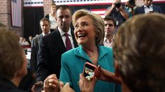 Anxious Dems urge Clinton to open up