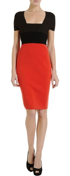 Narciso Rodriguez Colorblock Knit Dress; Barneys New York