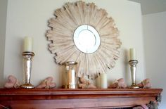 Crafty Sisters: SUNBURST mirror