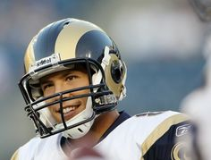 I also really admire Sam Bradford, because in addition to being a fantastic football player, he is a strong Christian young man and he's very intelligent and just a great guy all around.