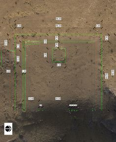 Satellites and drones helped reveal huge ceremonial platform near the ancient city's center.