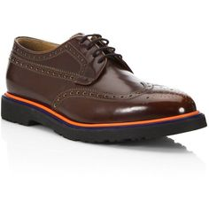 Paul Smith Crispen Leather Oxfords (31.345 RUB) ❤ liked on Polyvore featuring men's fashion, men's shoes, men's oxfords, mens leather lace up shoes, mens lace up shoes, mens leather oxford shoes and paul smith mens shoes