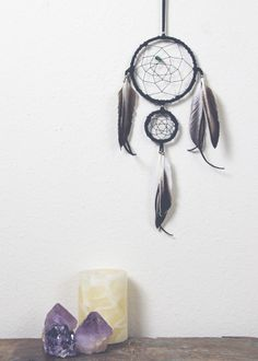 Into the Mystic Dream Catcher - Black by SoulMakes.com