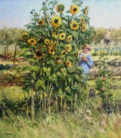 John LINES - Rita's Astonishing Sunflowers