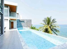 6 Amazingly Luxurious Airbnb Pools You'll Want to Dive Into, Stat - Ocean Front Villa from InStyle.com