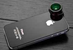 This Ollclip Fisheye Lens is definitely a must have for every iPhone user. It's available over at Fancy.com