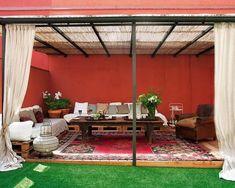 Encantadores patios en estilo marroqu