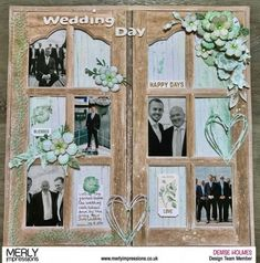 kaisercraft scrapbooking layouts using deep sea papers Wedding Scrapbook Pages, Travel Scrapbook, Scrapbook Albums, Scrapbook Paper, Scrapbook Templates, Scrapbooking Layouts, Making Ideas, Card Making, Memories