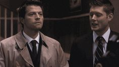 Misha is love misha is my life also destiel = heck yes