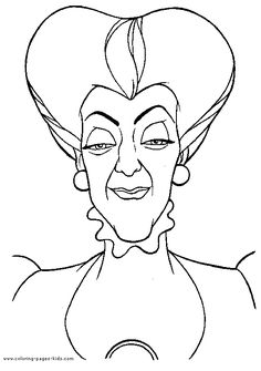 Disney Villains Coloring Page Captain Hook Disney Coloring
