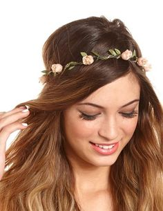 I have so many flower headbands/crowns, but no roses yet! Apparently these are at Charlotte Russe?